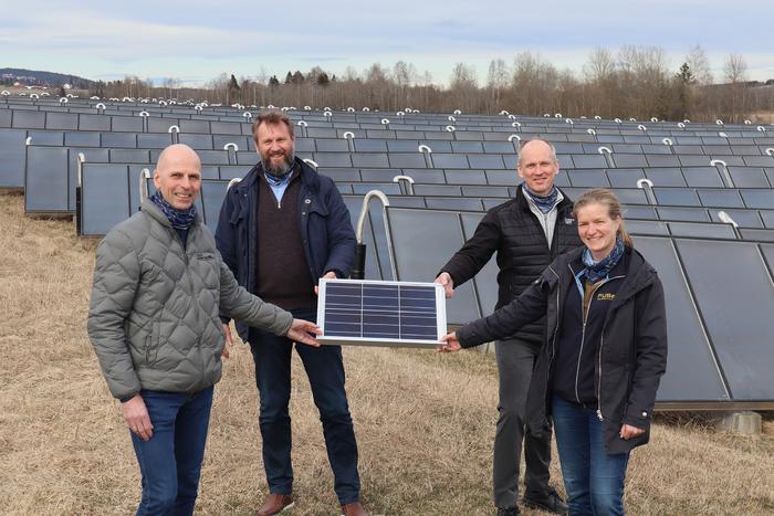 Akershus Energi blir deleier i stort, norsk solselskap